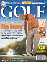 Golf Magazine cover