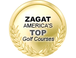 Zagat America's Top Golf Courses logo